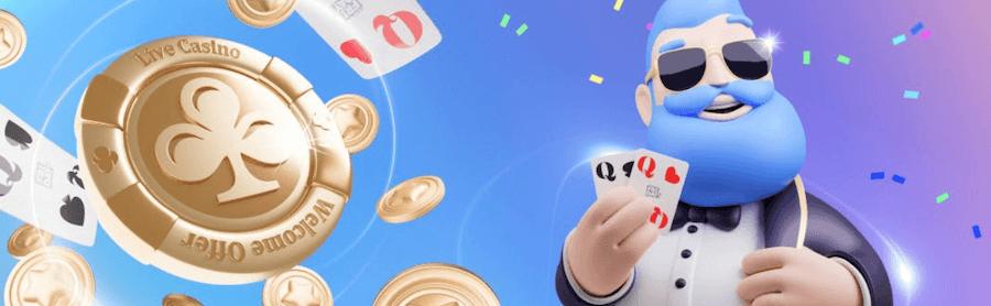 カジノフライデー|ウェルカムボーナス