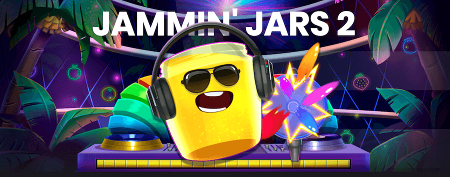 Jammin' Jars 2(ジャミンジャーズ2)で勝てる? 最新スロットの最高倍率や遊び方を徹底レビュー!