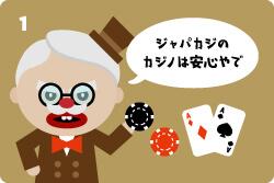 ステップ1:カジノ選び