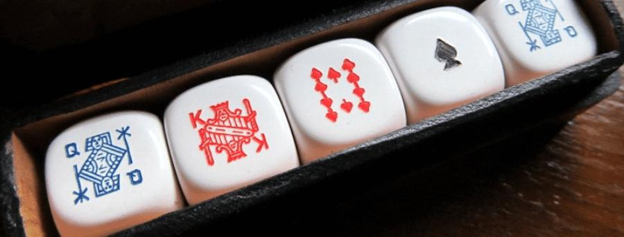 ポーカーダイス