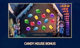 キャンディーハウスボーナス