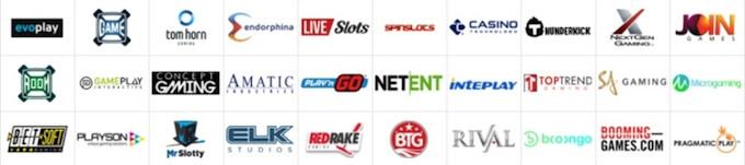 150社以上あるゲームプロバイダー