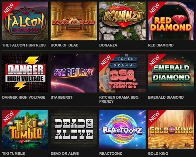 Video Slotsのゲーム