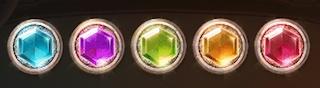 5種類の宝石
