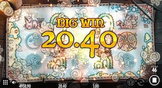 BIG WIN画面