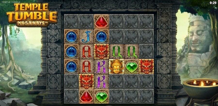 Temple Tumbleゲーム画面